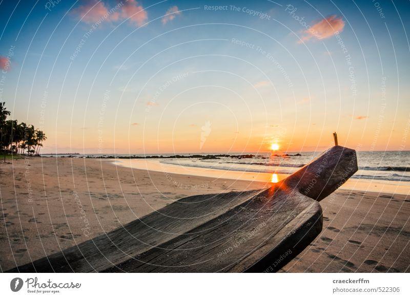 Gudn Abääänd Himmel Natur Ferien & Urlaub & Reisen Wasser Sommer Sonne Meer Strand Ferne Freiheit Tourismus Schönes Wetter Abenteuer Lebensfreude Neugier Asien