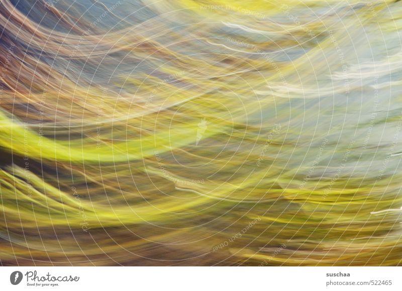 foto aus licht und farbe Natur Bewegung Herbst außergewöhnlich Luft Streifen einzigartig Kitsch Dynamik Leichtigkeit