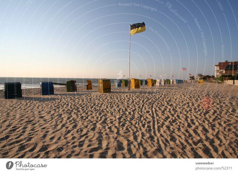 Strand Wyk auf Föhr Strandkorb Sandstrand