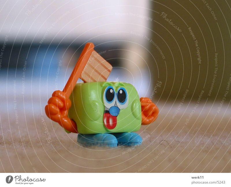 Toaster? grün Spielzeug kopflos Dinge Kinderüberraschung Kitsch