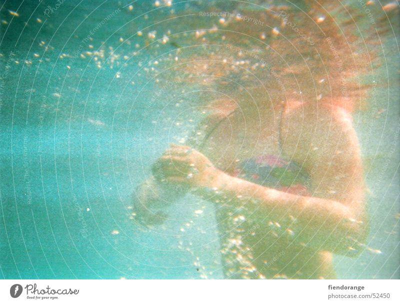 bluedayblue Frau Wasser Ferien & Urlaub & Reisen Freiheit