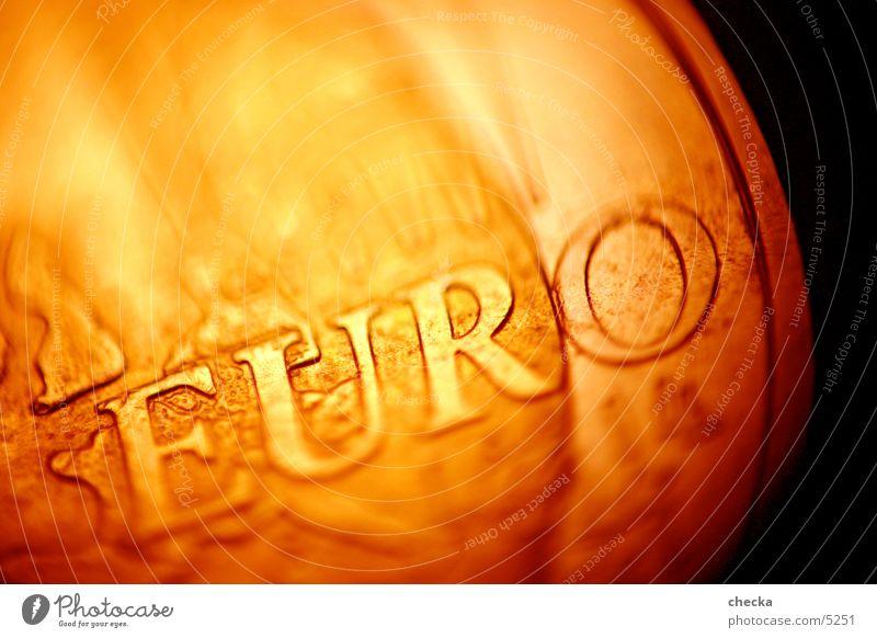 Euro #1 Erfolg Geld Geldinstitut Dinge Reichtum Wert Kapitalwirtschaft Geldmünzen finanziell