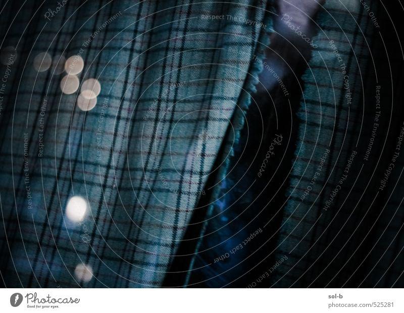 Materielle Welt Lifestyle Reichtum elegant Stil Design Fenster Mode Bekleidung Stoff dunkel grün kariert Schaufenster Einkaufszone Lichteffekt Saum Stoffmuster