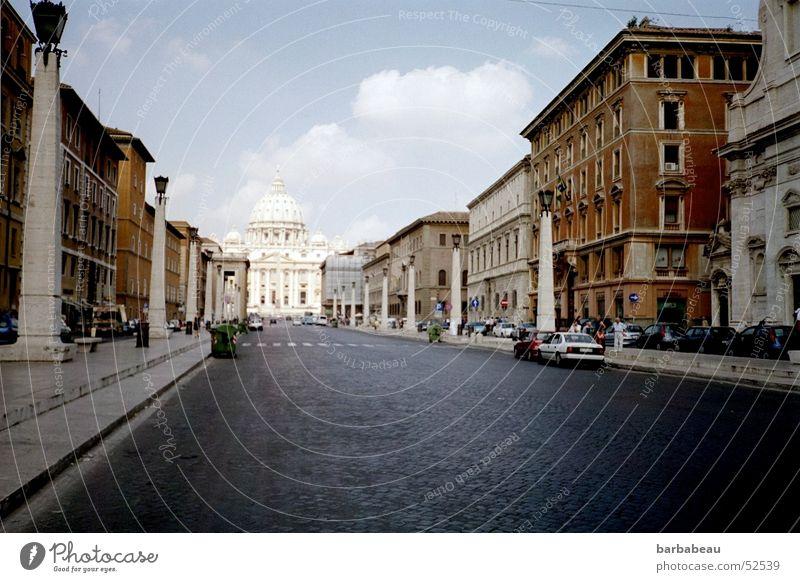 Straße der Versöhnung Stadt Rom