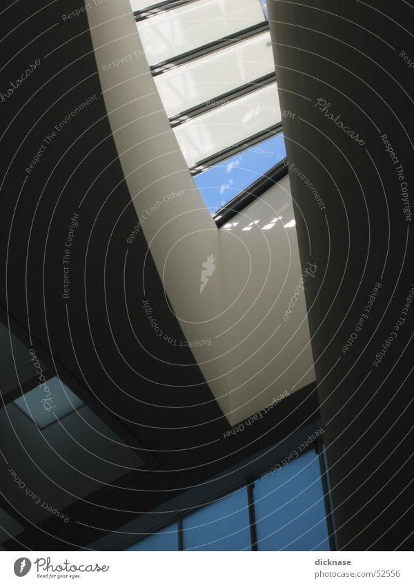 Pinakothek der Moderne München Dach Gebäude pinakothek der moderne Licht & Schatten Glas Museum museen in münchen abstrakt Himmel Strukturen & Formen