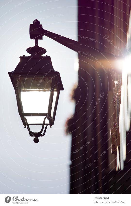 French Style XXV Kunstwerk ästhetisch Zufriedenheit Frankreich Provence Straßenbeleuchtung Licht Sonnenlicht Romantik Farbfoto Außenaufnahme Detailaufnahme