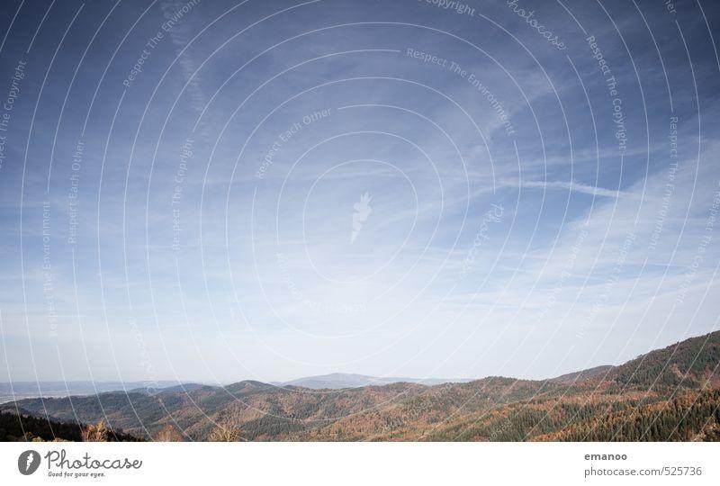 black forest Himmel Natur Ferien & Urlaub & Reisen blau Pflanze Landschaft Wolken Wald Berge u. Gebirge Herbst Freiheit Luft Wetter Klima Tourismus wandern