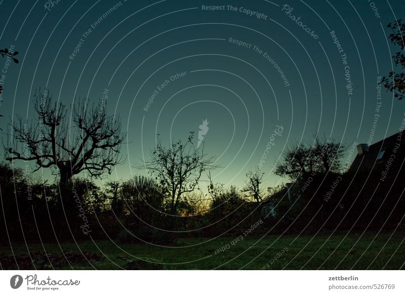 Die Sonne ist untergegangen. harmonisch Wohlgefühl Zufriedenheit Erholung Freizeit & Hobby Ausflug Abenteuer Ferne Freiheit Garten Umwelt Natur Landschaft