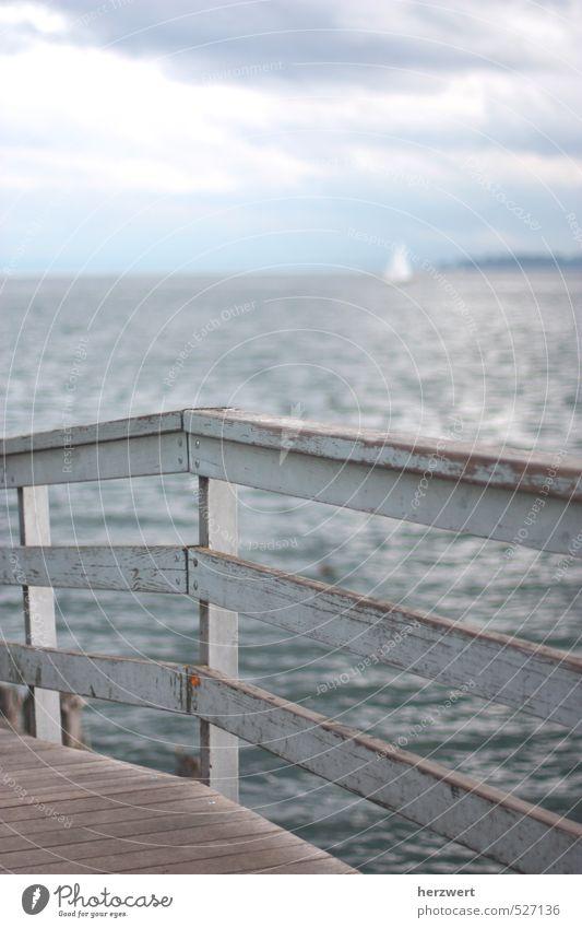 Sichtweise Himmel Wasser ruhig Stimmung