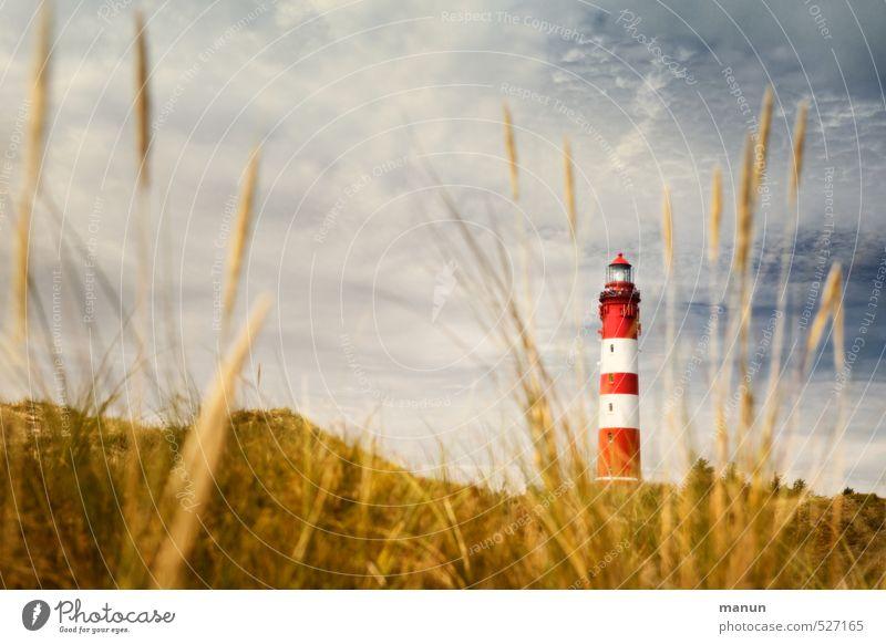 Bauchbinde Natur Ferien & Urlaub & Reisen Landschaft Architektur Insel Bauwerk Nordsee Sehenswürdigkeit Leuchtturm