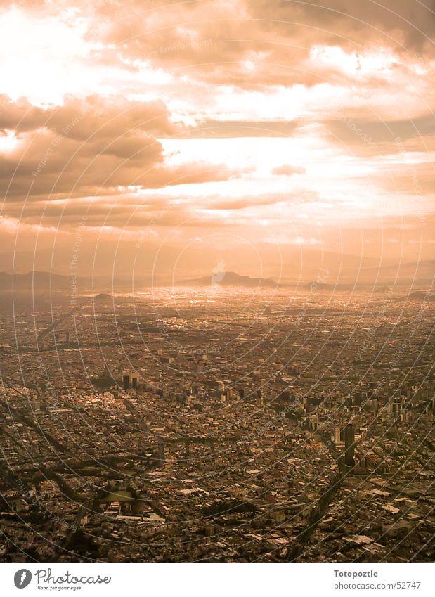 Mexico City Stadt Wärme Physik Skyline Mexico City Smog Apokalypse Mittelamerika Independence Day