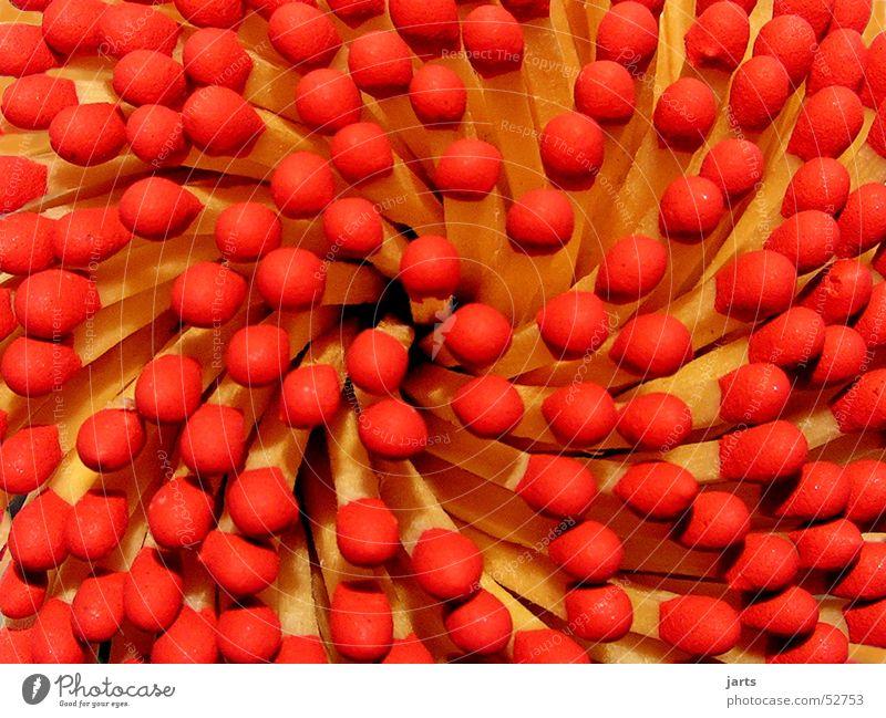 Feurig rot Holz Brand Dynamik Streichholz