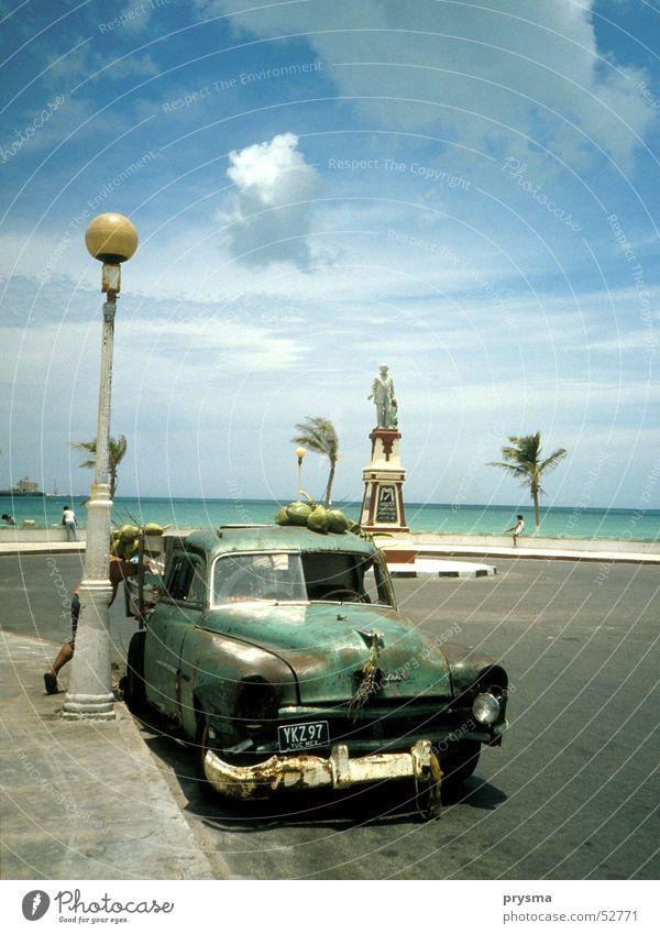 coconut Sommer Meer Ferien & Urlaub & Reisen Oldtimer Strand Sonne ford Frucht