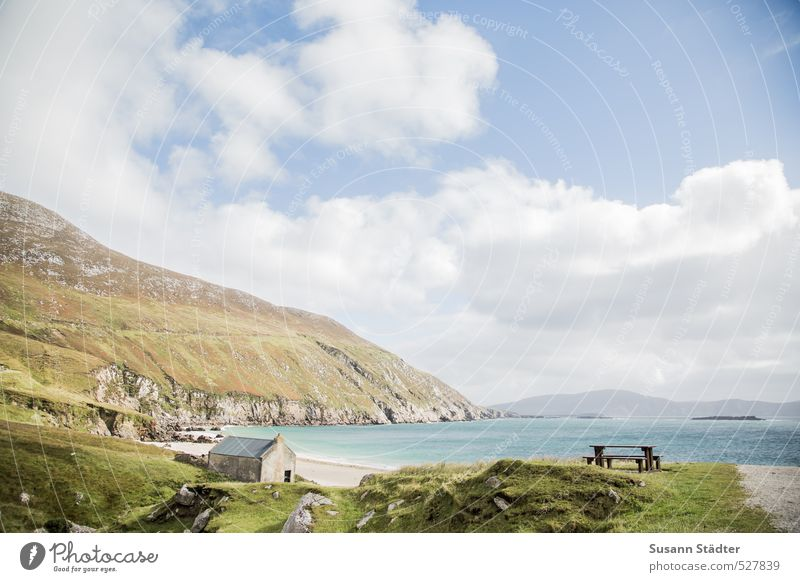 little paradies Ferien & Urlaub & Reisen Ferne Freiheit Sommer Schönes Wetter Küste Strand Bucht ruhig Fernweh Republik Irland Achill Island Insel paradiesisch
