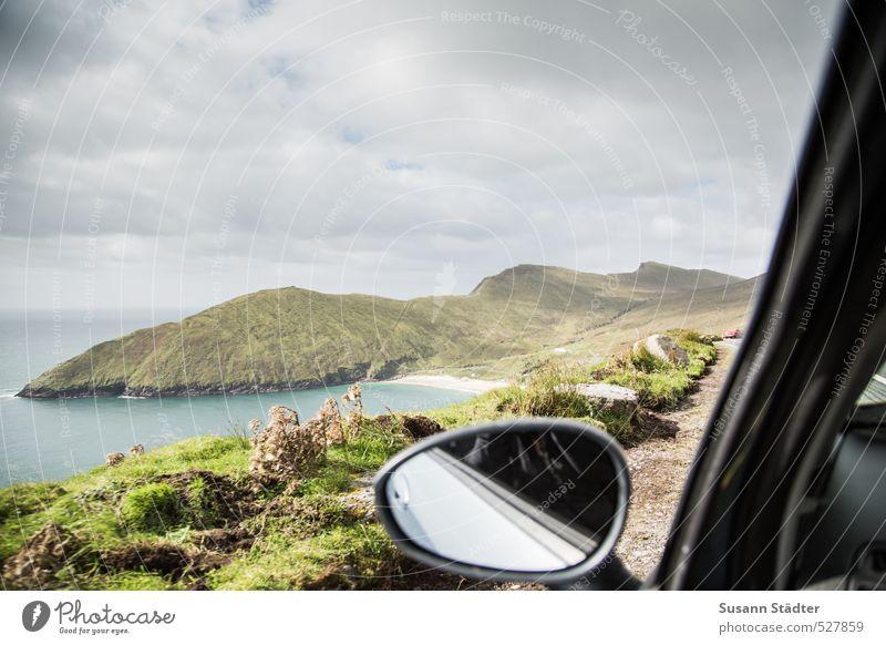place to be Natur Landschaft Wolken Strand Felsen weich Abenteuer Gipfel Romantik Hügel Autofahren Atlantik Expedition Karibisches Meer Republik Irland traumhaft