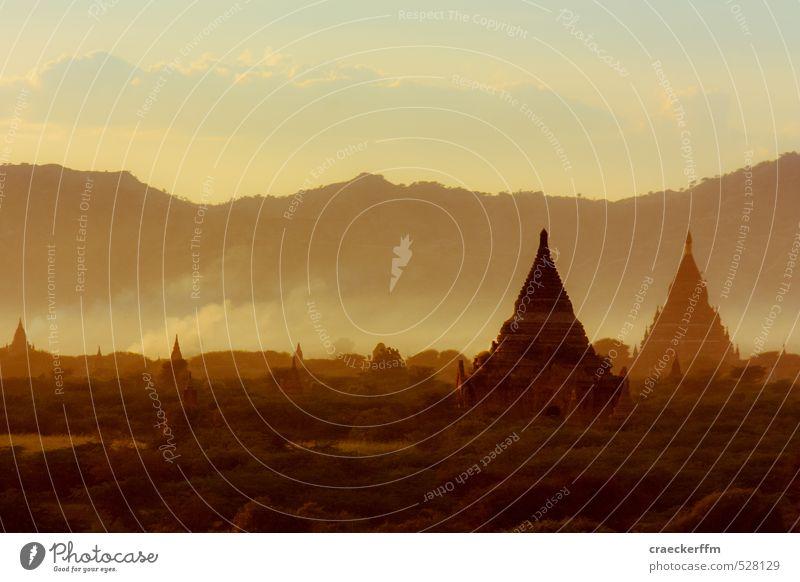 Bagan again Natur Ferien & Urlaub & Reisen Erholung Landschaft Ferne Wald außergewöhnlich Tourismus Schönes Wetter beobachten Abenteuer Hügel Gelassenheit