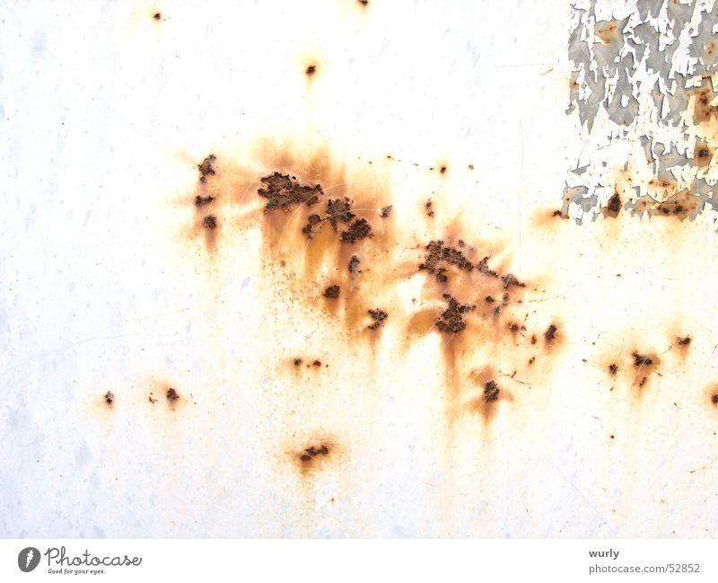 Rost braun Muster grau Hintergrundbild Überzug Anstrich Altmaterial antik Beschichtung alt rostfrei Altwaren Schrott warenmuster Metall metallbeschichtung