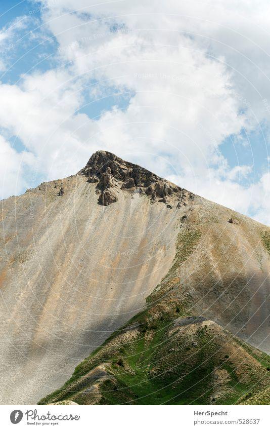 Pic de L'Arpelin Himmel Natur Ferien & Urlaub & Reisen Landschaft Wolken Umwelt Berge u. Gebirge grau Felsen braun Tourismus wandern Schönes Wetter hoch Ausflug
