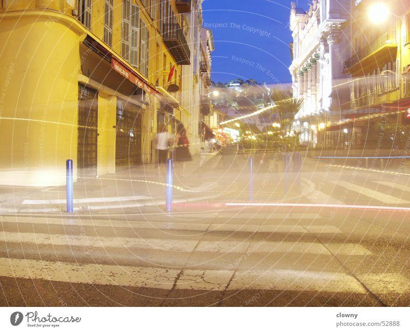Nizza Himmel Straße Farbe Geschwindigkeit Frankreich