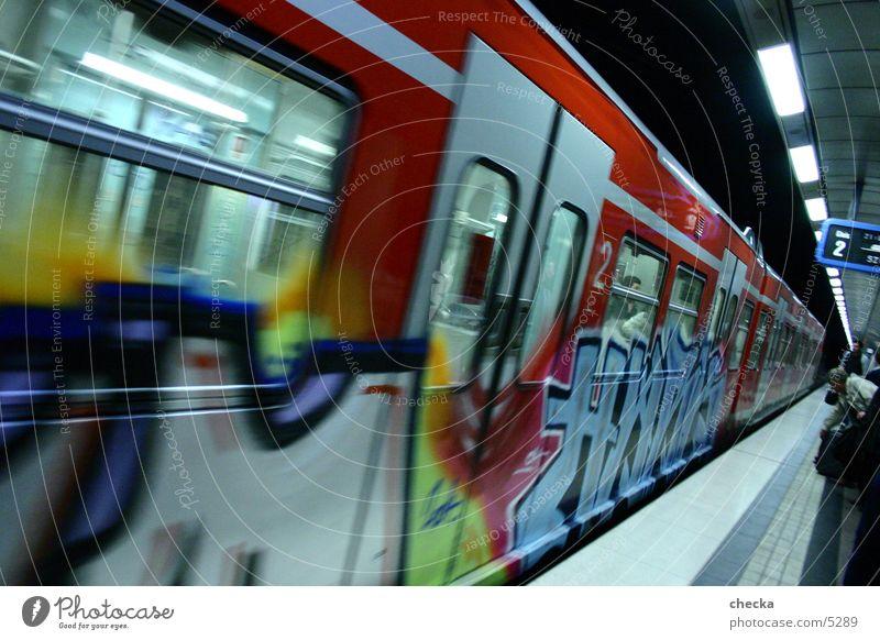 s-bahn stugg S-Bahn London Underground U-Bahn Verkehr graffity Station