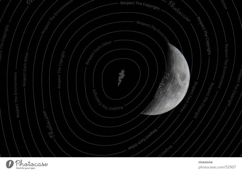 Moonstruck schwarz Mond Himmelskörper & Weltall Vulkankrater Mondsüchtig