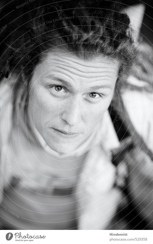 Zwei-Gipfel-Tour   kemai-Style² Haare & Frisuren Gesicht Gesundheit Ausflug wandern feminin Frau Erwachsene 1 Mensch 30-45 Jahre Herbst Halstuch schwarzhaarig