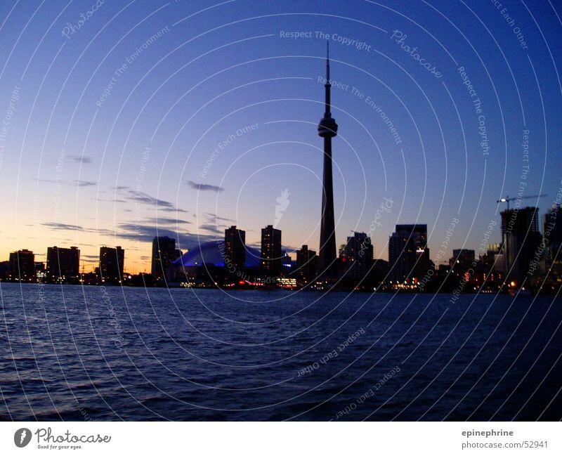toronto skyline Toronto Sonnenuntergang Stadt Skyline