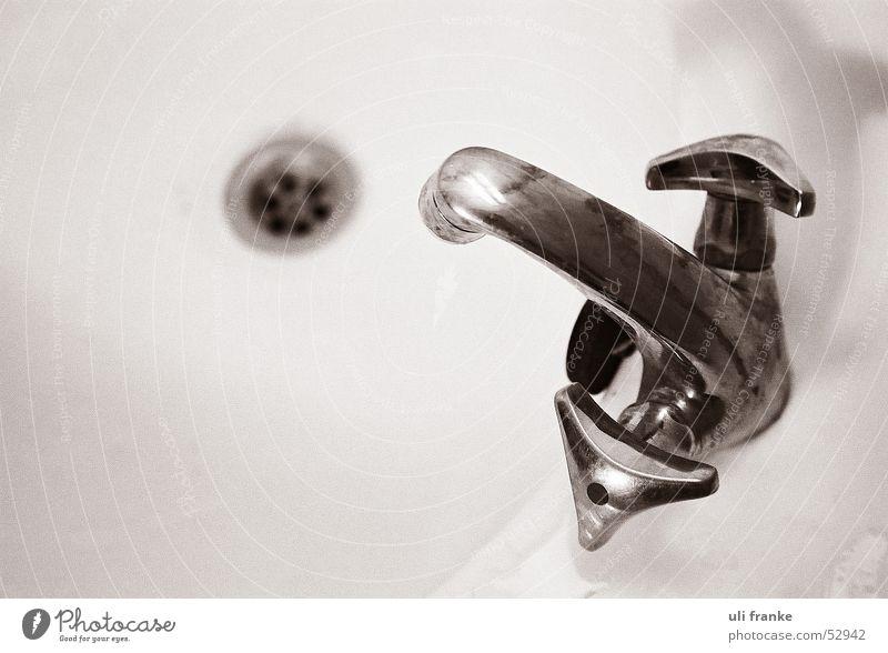wasserhenne Wasser Bad Häusliches Leben Reinigen Badewanne Abfluss Wasserhahn Becken Waschbecken