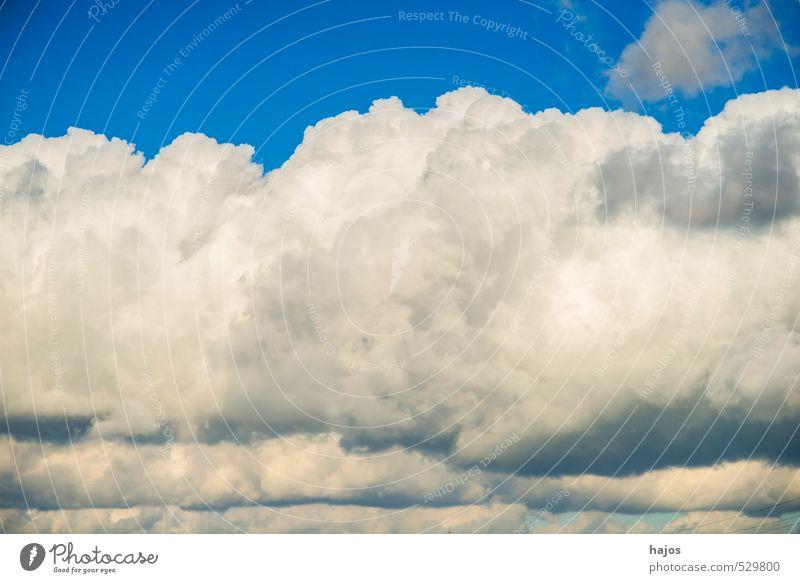 Wolken am Himmel Natur Wetter Wind Sturm Bewegung bedrohlich dunkel blau schwarz Stimmung Wolkenformation Schichtung dramatisch Kumulus schlecht Tiefdruckgebiet