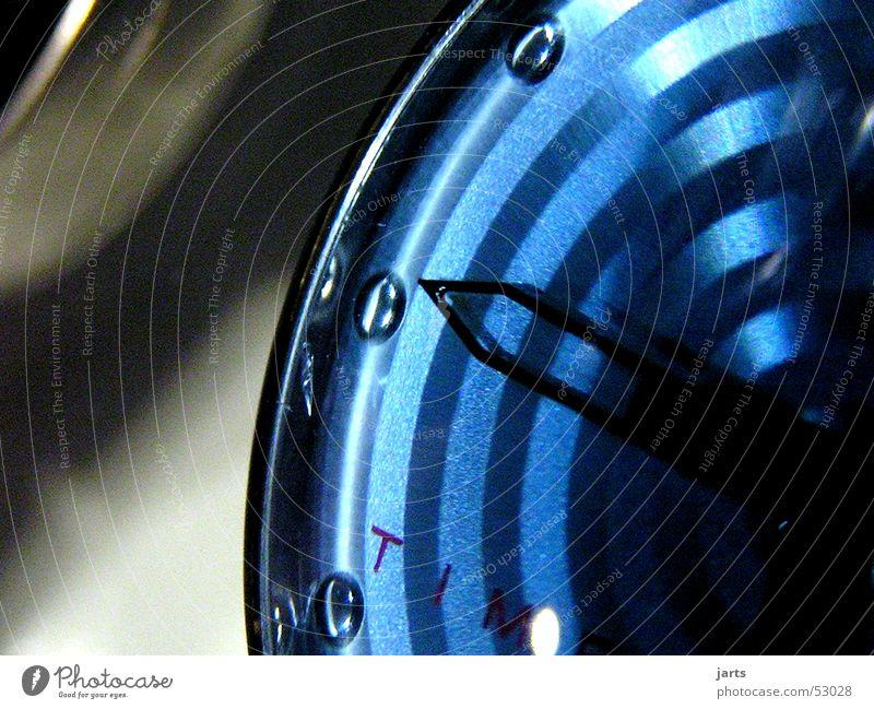 Time blau Zeit Uhr Uhrenzeiger