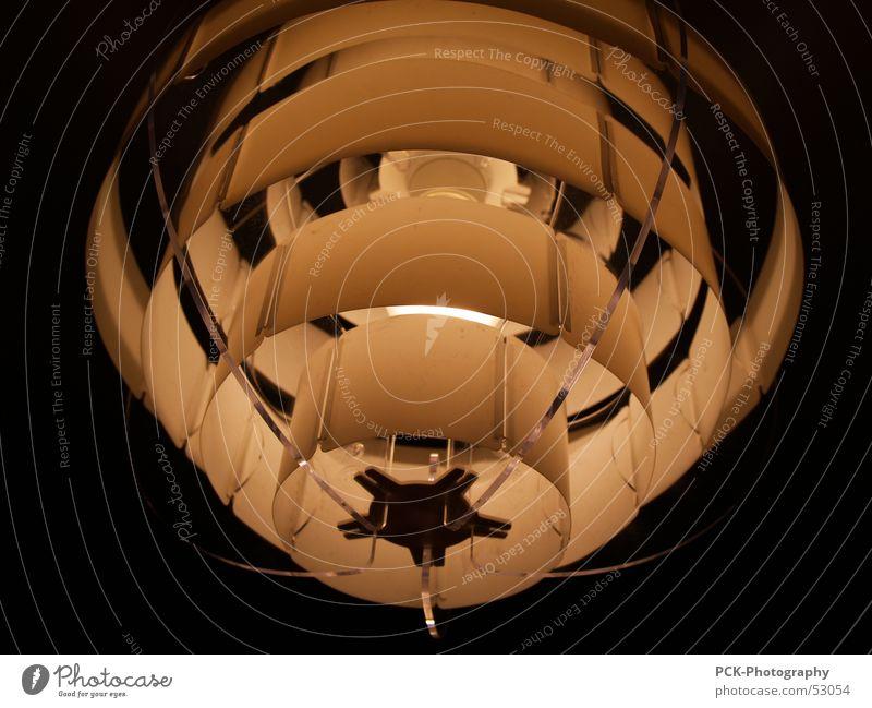 lichtringe Lampe dunkel Schweben UFO Deckenlampe Leuchtkörper