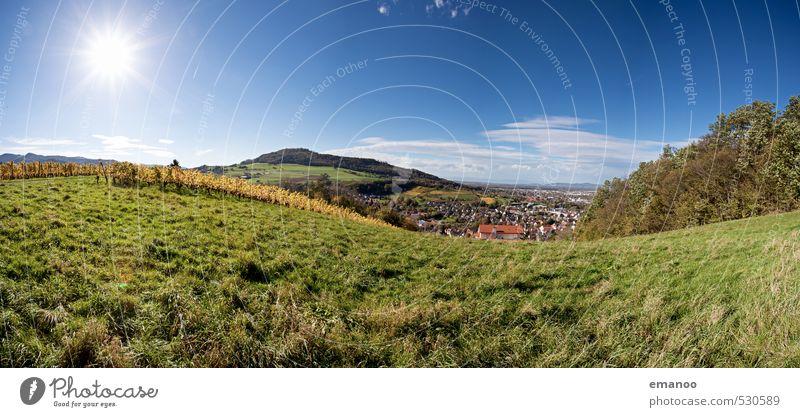 Schönberg Ferien & Urlaub & Reisen Tourismus Ferne Freiheit Städtereise Sommer Sonne Natur Landschaft Himmel Wetter Schönes Wetter Gras Wiese Hügel