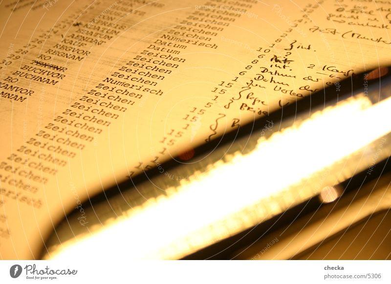 reflections Papier Zettel Fototechnik Locher