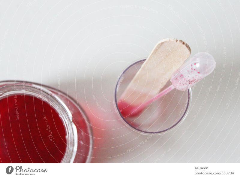 Versuchsanordnung weiß rot ruhig Umwelt grau Holz Schule rosa Gesundheitswesen authentisch Glas stehen Ordnung ästhetisch Wassertropfen lernen