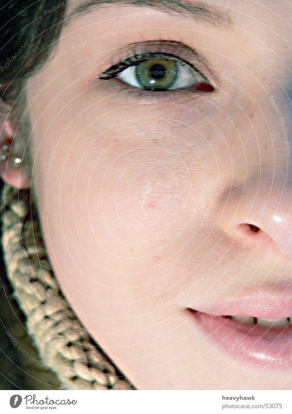 der Blick Gesicht Porträt