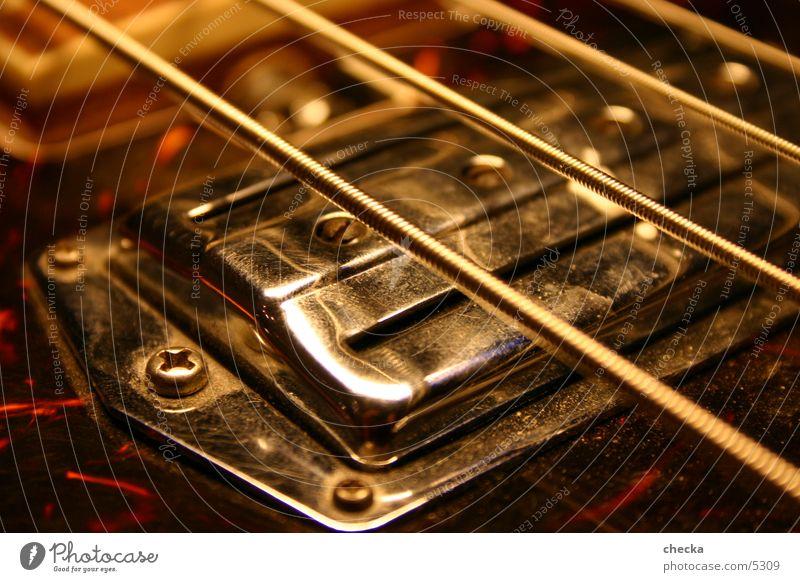 Bass Elektrobass Saite Gitarre Konzert Musik Musikinstrument