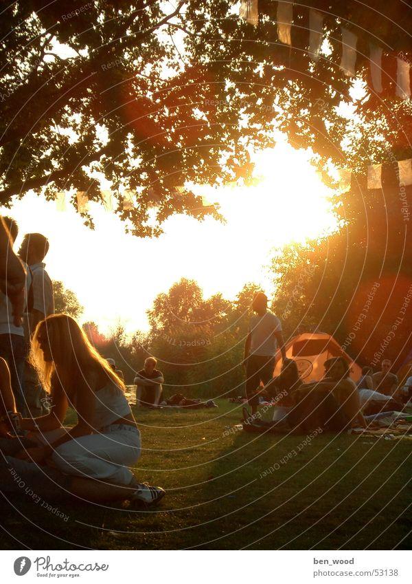 freilicht-party Sonne Party Stimmung Feste & Feiern Konzert Teich Open Air