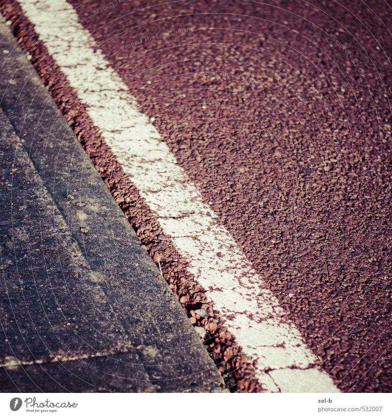 alt Stadt Straße Sport Wege & Pfade Verkehr Fahrrad Beton ästhetisch einfach Sicherheit Fahrradfahren Fußweg Verkehrswege diagonal gestreift