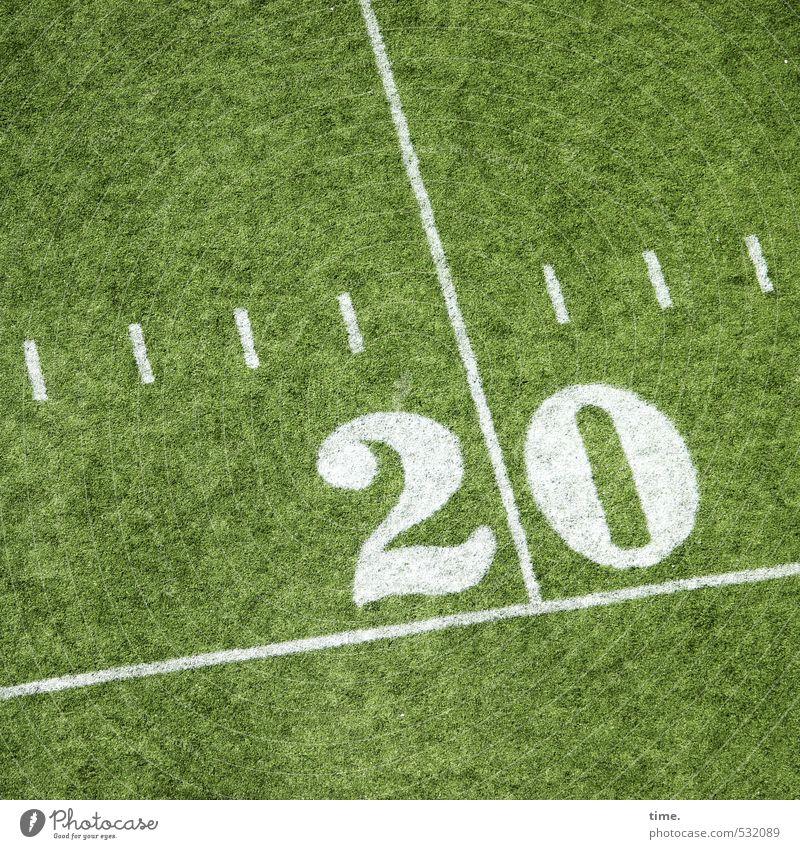 Großstadtfilz Sport Fitness Sport-Training Sportstätten Stadion Baseball Spielfeld Spielfeldbegrenzung Wiese New York City Ziffern & Zahlen Linie Streifen 20