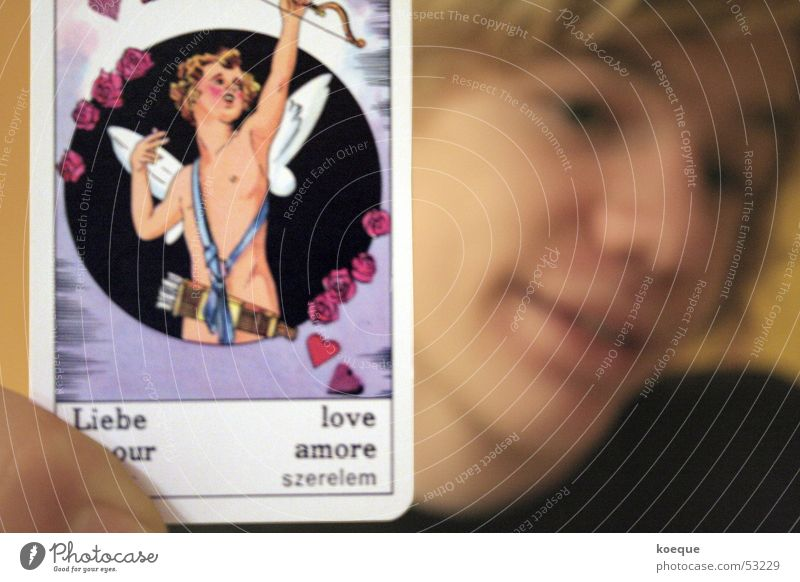 Horoskop- Liebe Pfeil Astrologie Verliebtheit Symbole & Metaphern Tarot