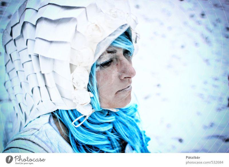 Ice Lady Lifestyle Design Winter Schnee Friseur Medienbranche Werbebranche Wissenschaften High-Tech Industrie Mensch feminin androgyn 1 18-30 Jahre Jugendliche