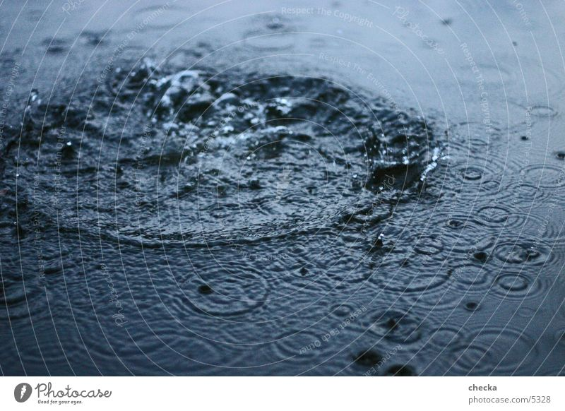 platsch! See Wellen Korona Wasser