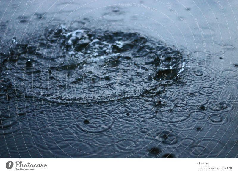 platsch! Wasser See Wellen Korona