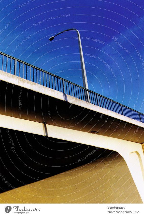 Urbaner Raum Lampe Brücke