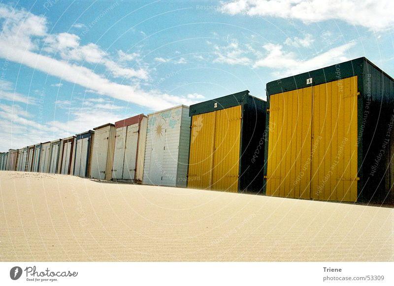 Haus am Meer Strand Ferien & Urlaub & Reisen Ferne Erholung Freiheit Wind Stranddüne Nordsee