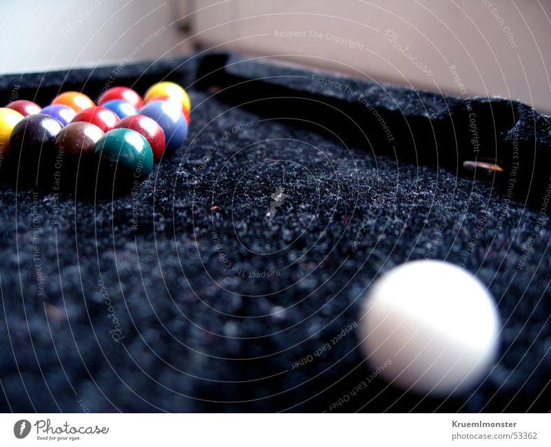 Mini-Billiard Billard Schwimmbad weiße kugel schwarz fils mini billiard