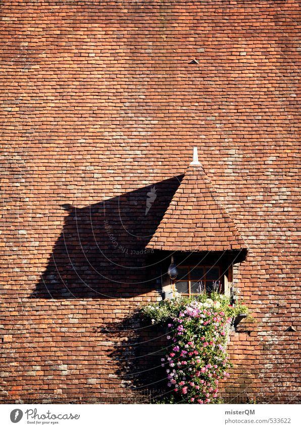 French Style XXXIX Kunst Zufriedenheit ästhetisch Dach viele Backstein Frankreich Symmetrie Dachgiebel Dachziegel Dachfenster Provence Dachdecker Dachgeschoss