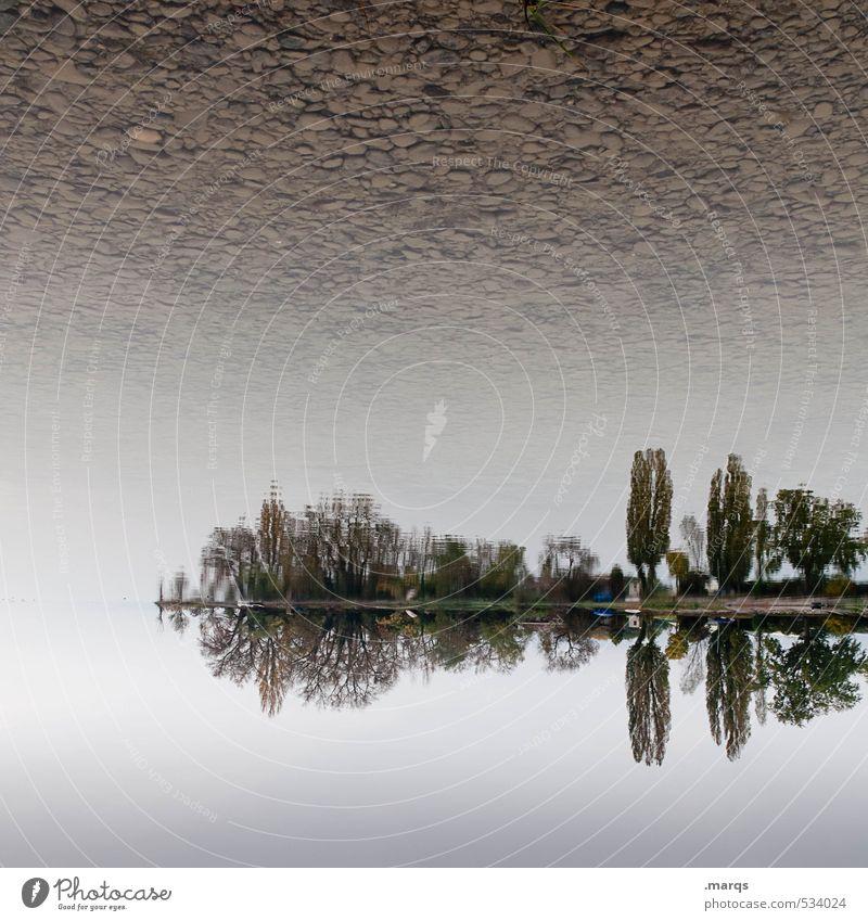 Landunter Himmel Natur Ferien & Urlaub & Reisen schön Baum Landschaft Umwelt Herbst See außergewöhnlich Horizont Stimmung Park elegant Klima Tourismus