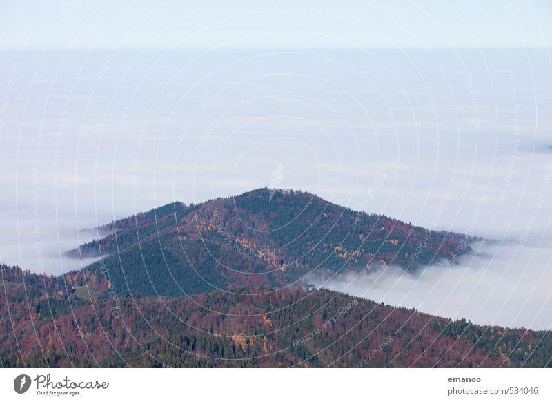 Schwarzwaldnebel Himmel Natur Ferien & Urlaub & Reisen Wasser Landschaft Wolken Ferne Wald Berge u. Gebirge Herbst Freiheit oben Luft Wetter Nebel Klima