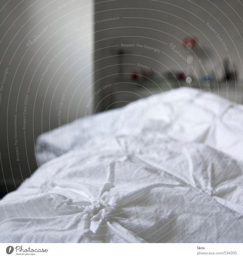 guten morgen Häusliches Leben Wohnung Schlafzimmer Bettwäsche Bettdecke Farbfoto Innenaufnahme
